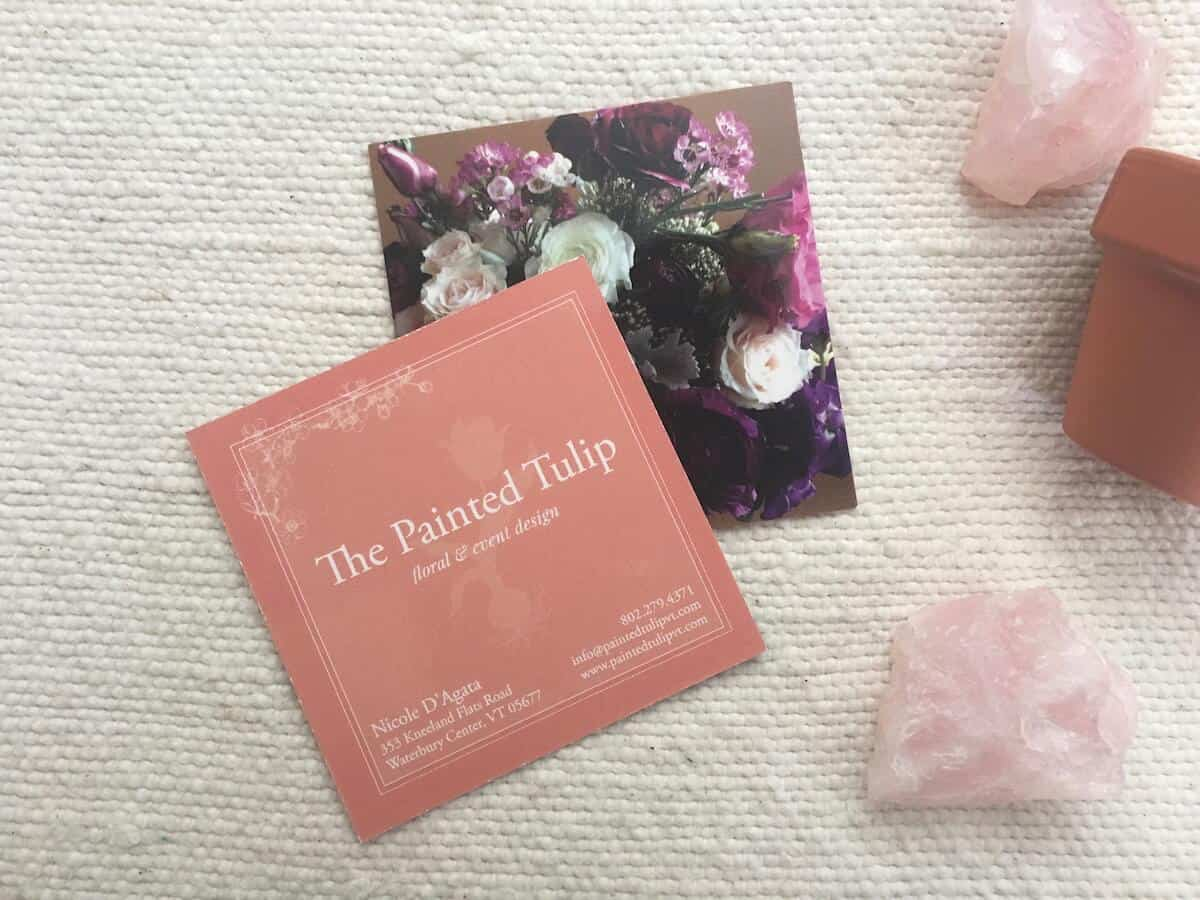 Painted Tulip business cards