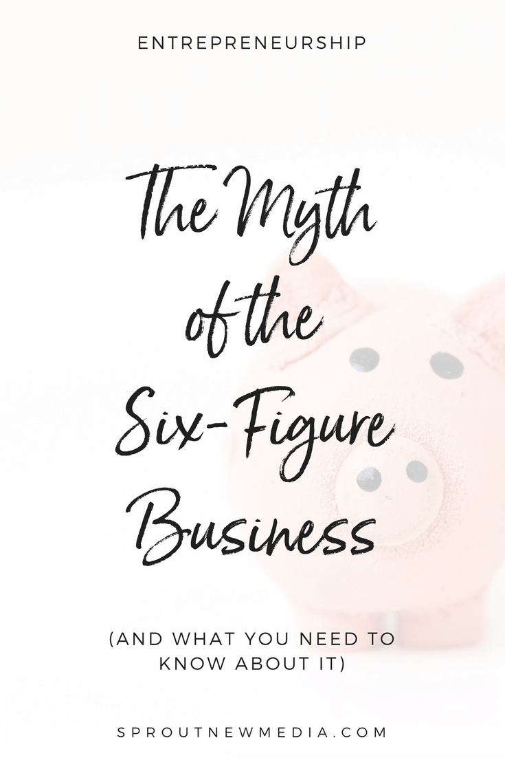 Learn why hitting six figures in your business might not be as awesome as you'd expect.