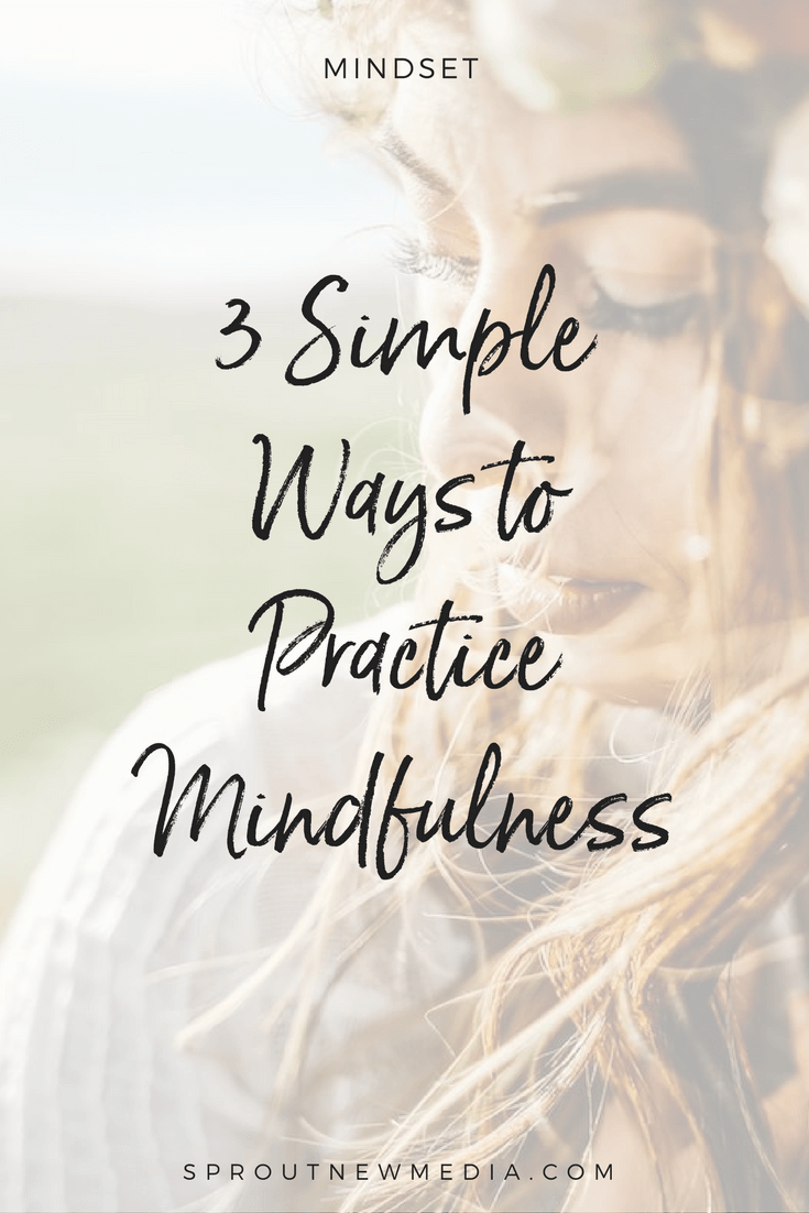 Ever have one of those days when you're jumping from one thing to the next, your mind racing, and you feel like you're on autopilot? Learn three simple ways to slow down and be more in tune to the present.