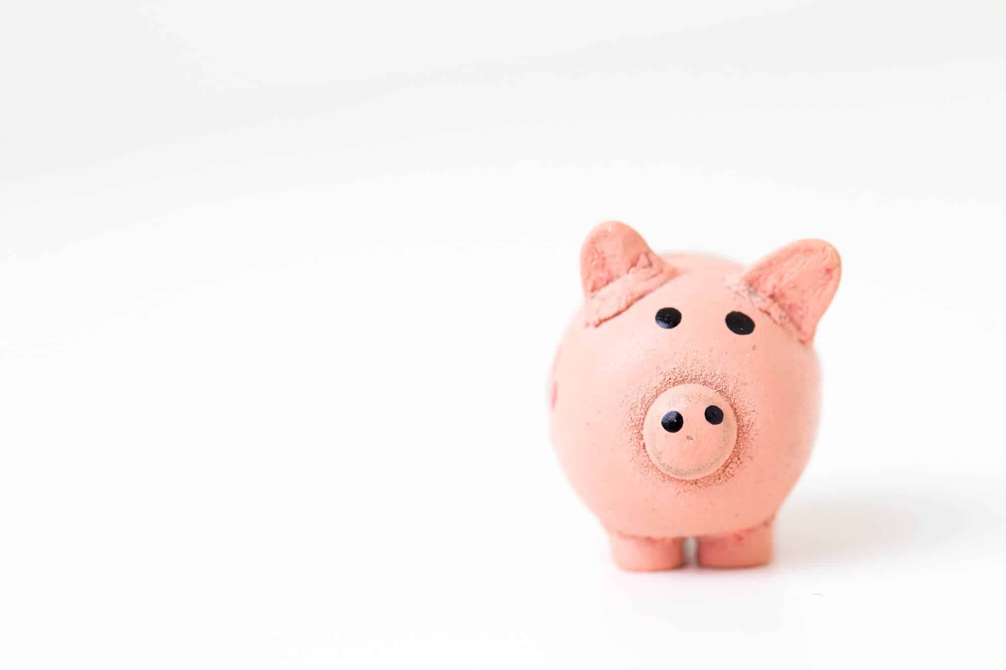 Piggy bank and the myth of the six-figure business.