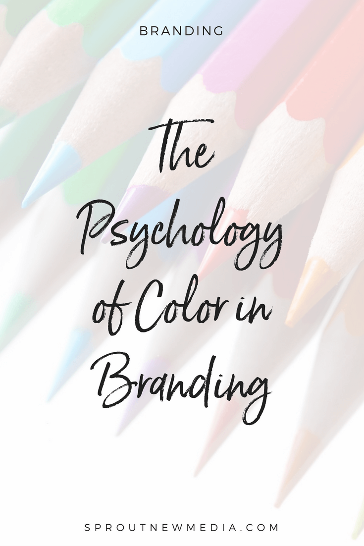 Read how the use of color affects your branding. Learn about the psychology of color and download a free cheat sheet.