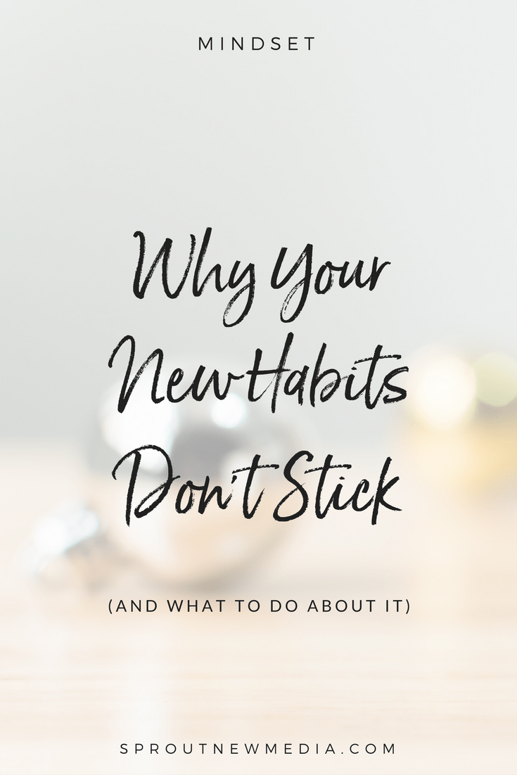 When you try to create a new habit but don't really believe you can do it, you're doomed before you even start. Find out why, and what to do instead.